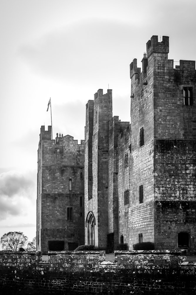 Raby Castle .