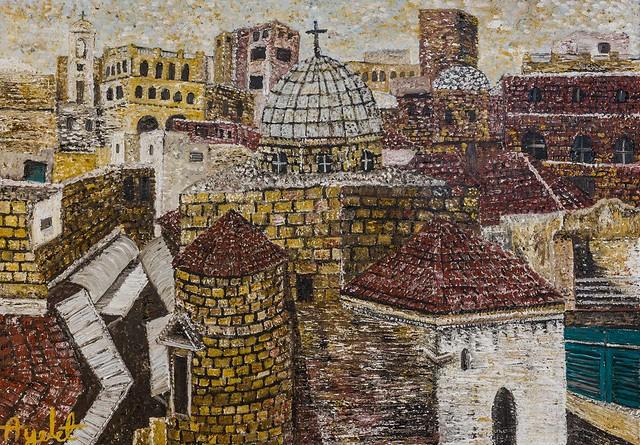 ayelet boker איילת בוקר האמניות היוצרות הציירות הפיגורטיביות האימפרסיוניסטיות הפויינטליסטיות