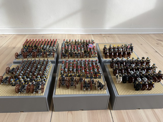 CSA - Confederate lego army - American civil war