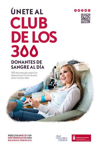 Cartel promocional del Instituto Canario de Hemodonación y Hemoterapia