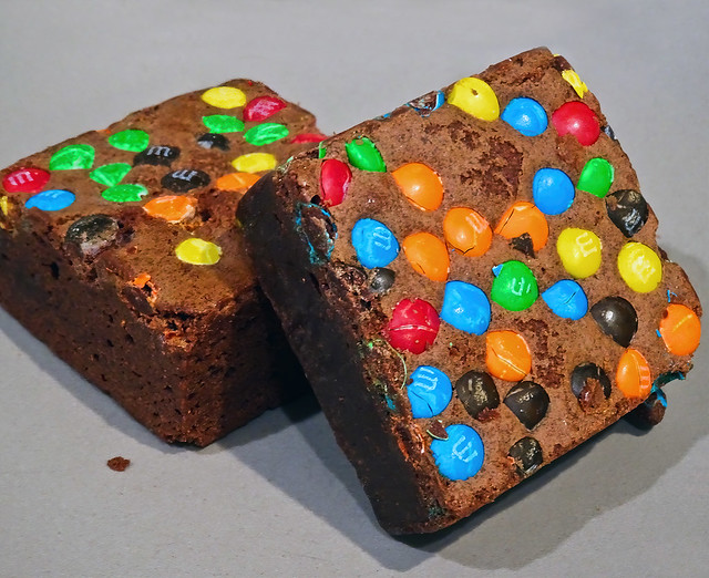 photo - M&M Brownies