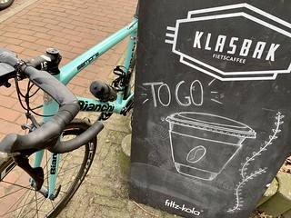 First Bianchi ride of 2021, 42km at 30km/h, fantastic start! | by Klaas / KJGuch.com