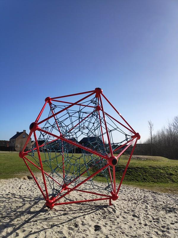 El pequeño Atomium. Hasselt.
