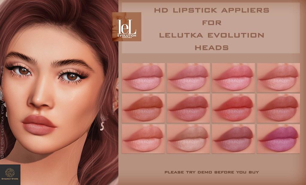 Synergy – Lelutka Lipstick Applier for EVO heads – Hong Kong♥