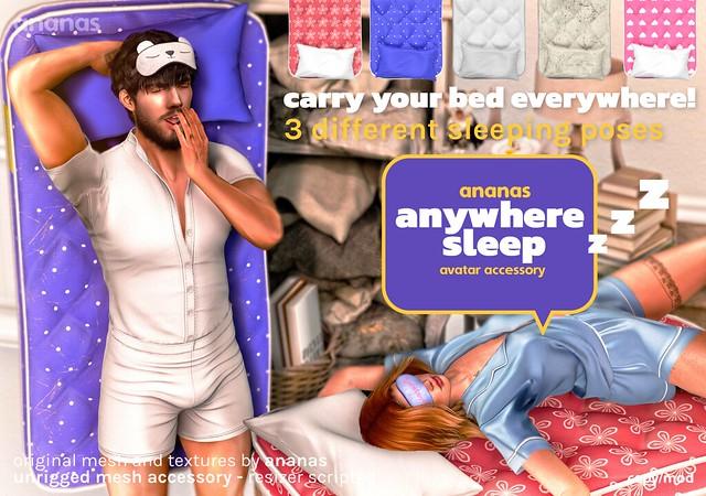 Ananas // Anywhere Sleep @ The Warehouse Sale