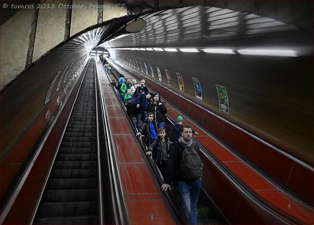 Descendants; Like Father, like sons. Metro, Prague.