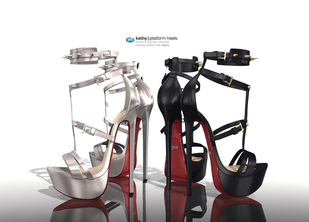 Kathy Platform Heels