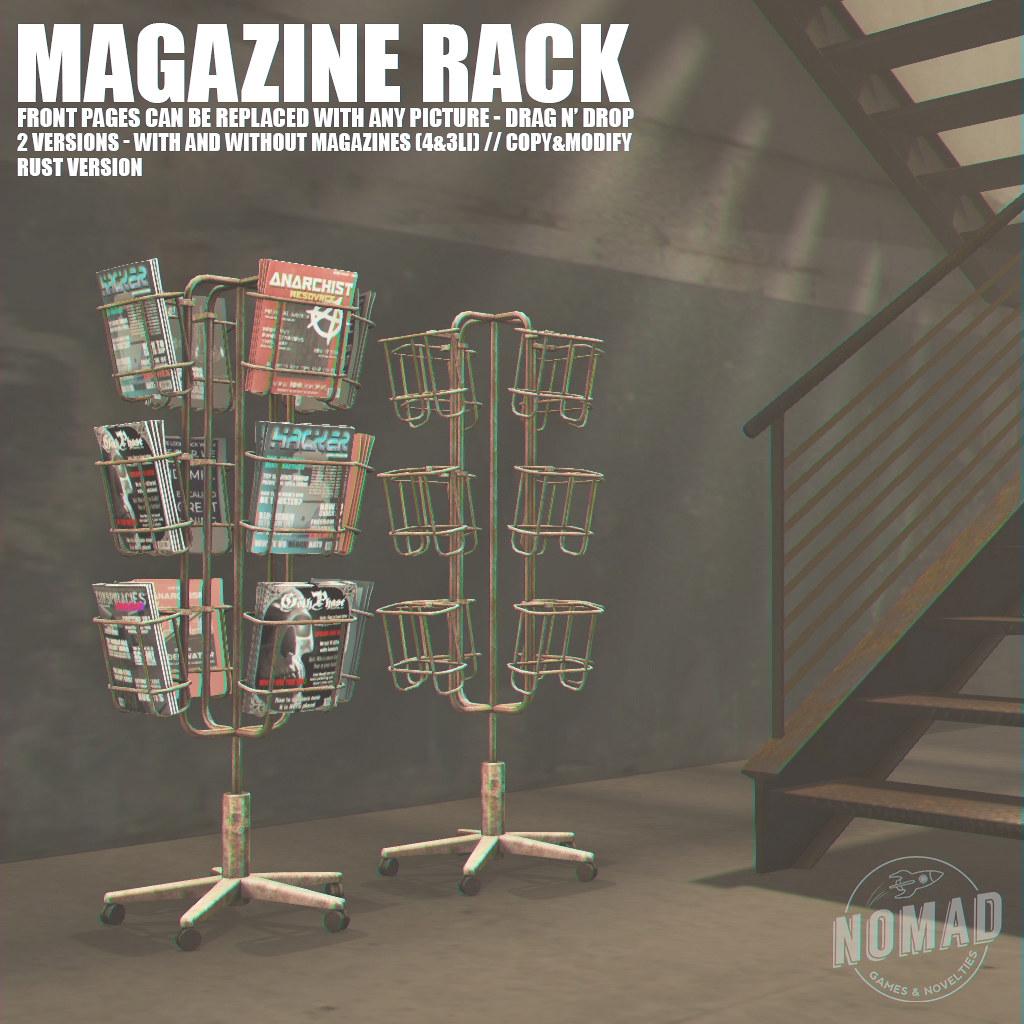 NOMAD – Magazine Rack