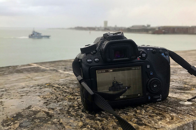 HMS Ranger, Portsmouth, February 4th 2021