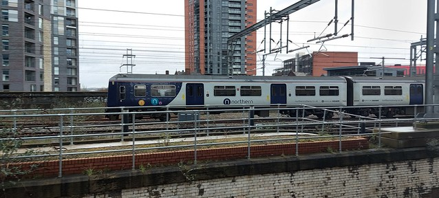 319368 Just West of Manchester Victoria