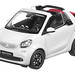 NOREV 1/18 SMART FORTWO CABRIOLET 2015 WHITE 1:18
