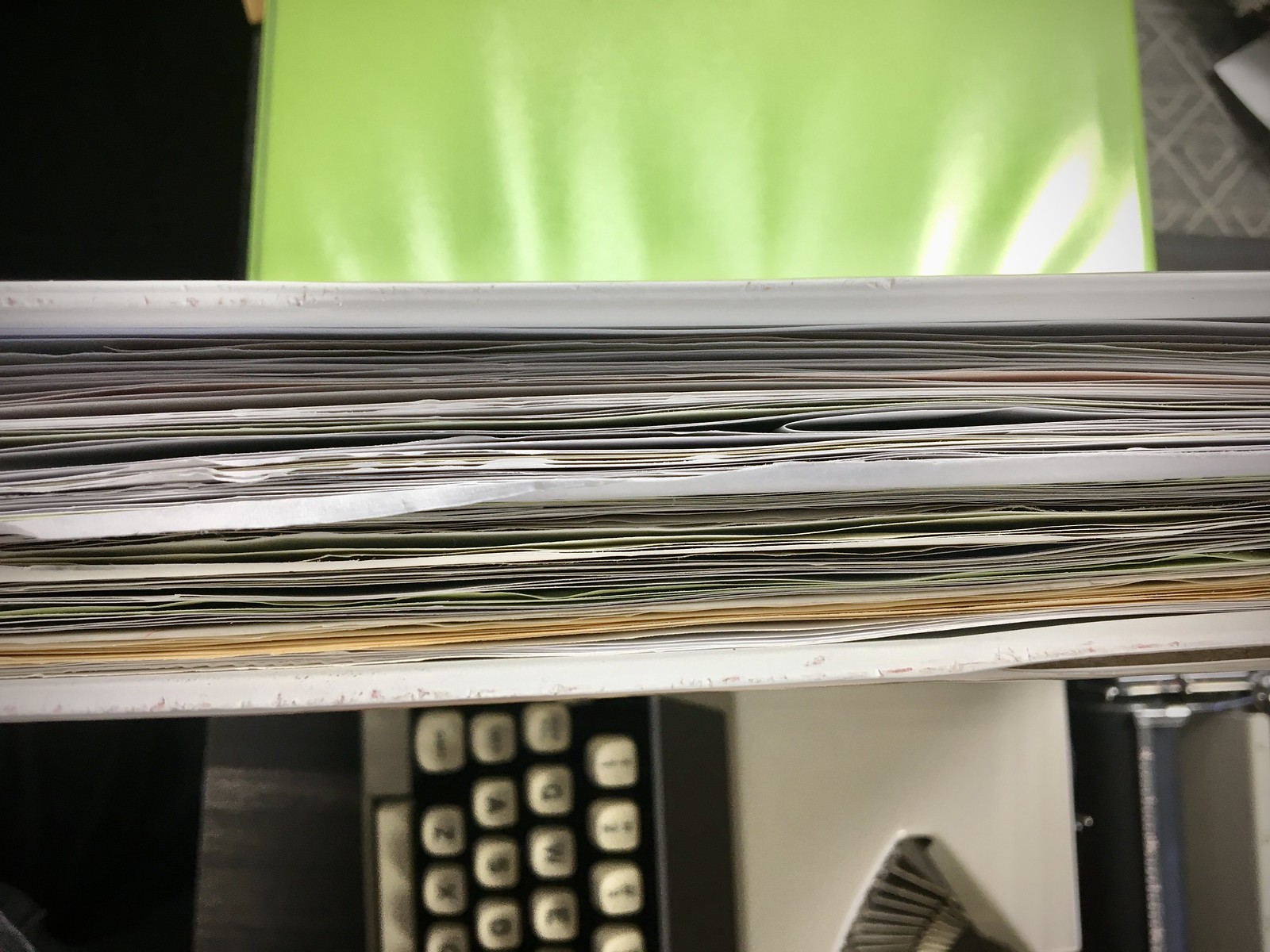 Typewritten Journal Binder, June 2020 to February 2021