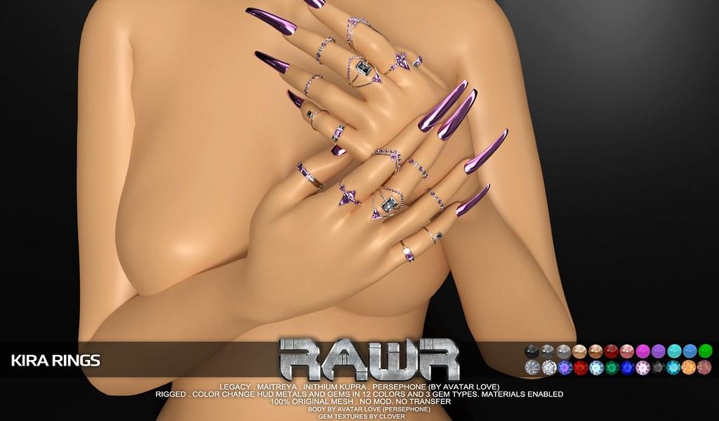 RAWR! Kira Rings PIC