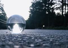 Glass ball shot