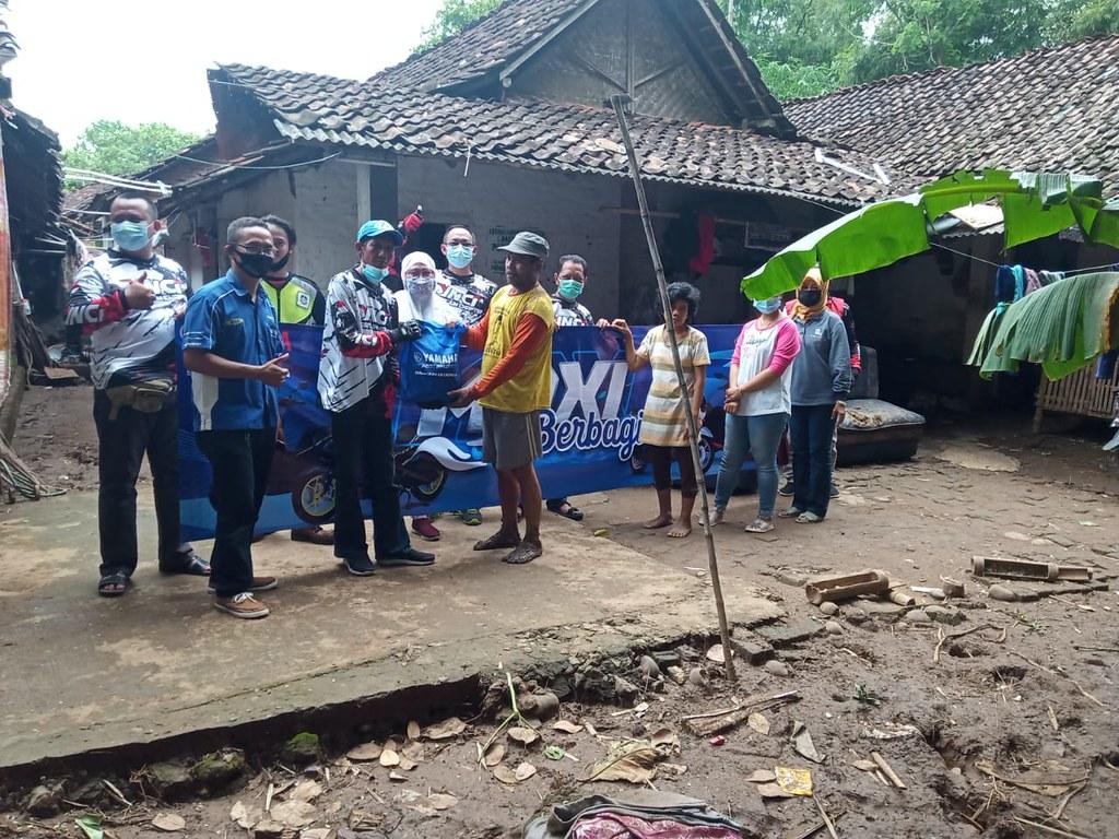 Maxi peduli banjir Nganjuk