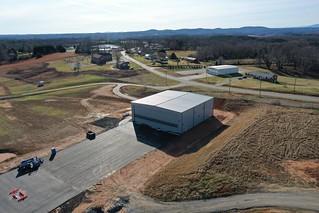 5859 GA apron and Hangar Project