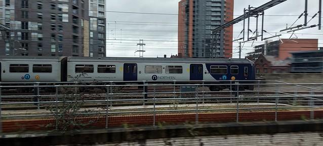 319366 Heading Towards Manchester Victoria