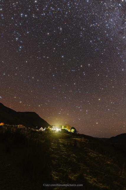 Andromeda over MacKenzie's Peak