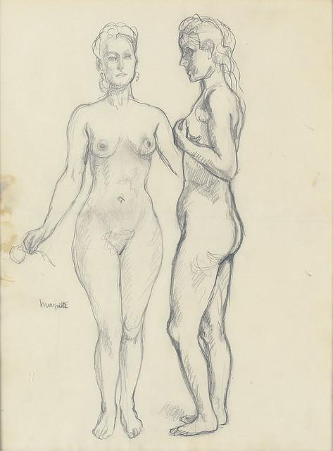 René Magritte - Etude pour