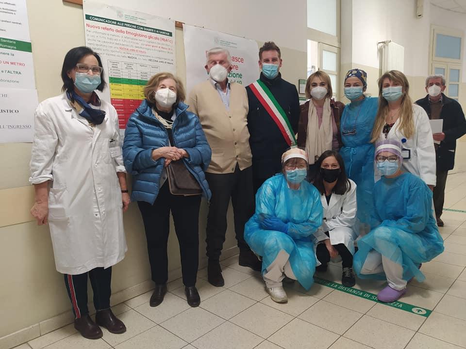 Partita oggi a Castel Bolognese la campagna vaccinazione anti-covid