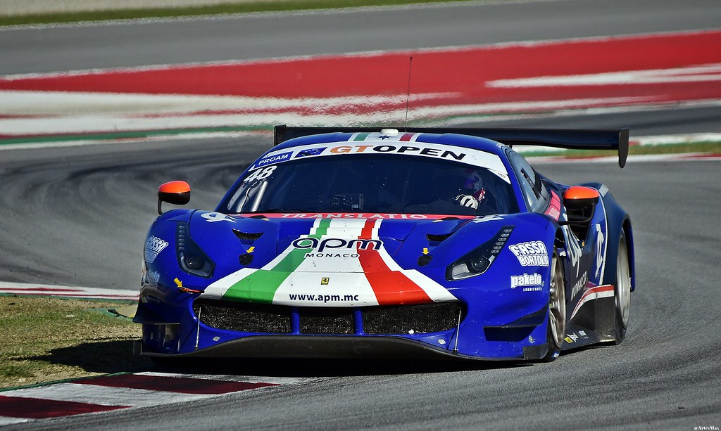 Ferrari 488 GT3 / Stephane Ortelli / MCO / Angelo Negro / ITA / AF Corse