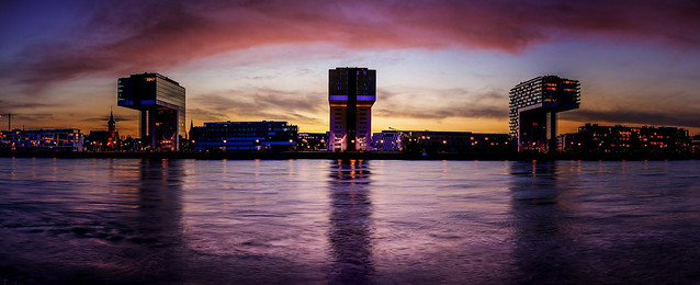 Blue Hour Cologne
