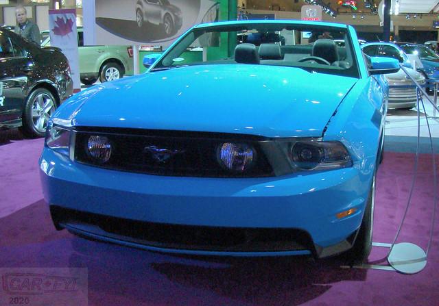 2010 Ford Mustang Convertible at CIAS