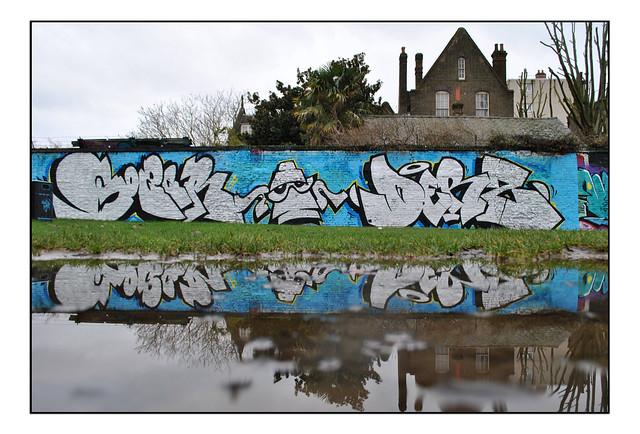 LONDON STREET ART by GOZER & DERS.