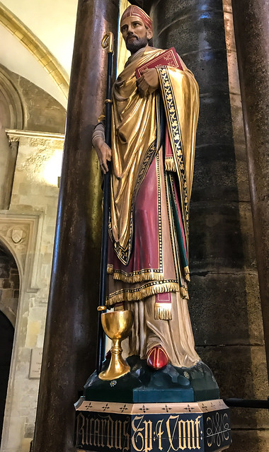 Chichester Cathedral - Statue of St Richard