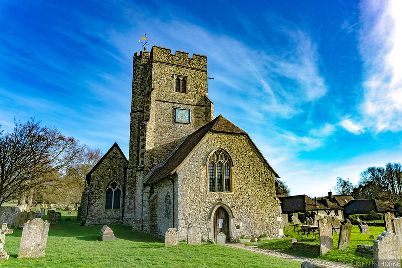 CHURCH OF ST MARY AND ALL SAINTS BOXLEY KENT GRADE 1 Listed Building