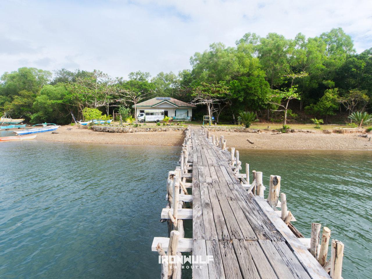 Calauit island pier