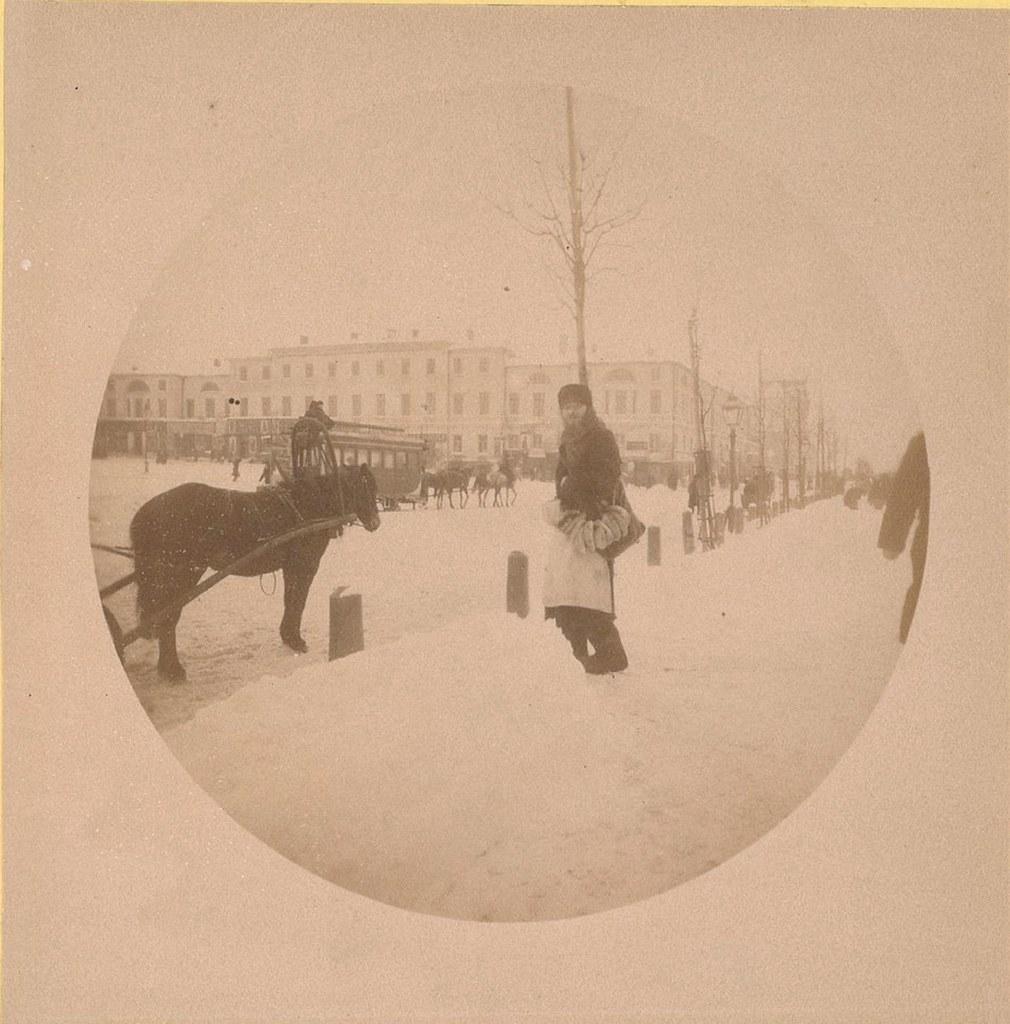 Лубянская площадь, «Шиповская крепость». 1889