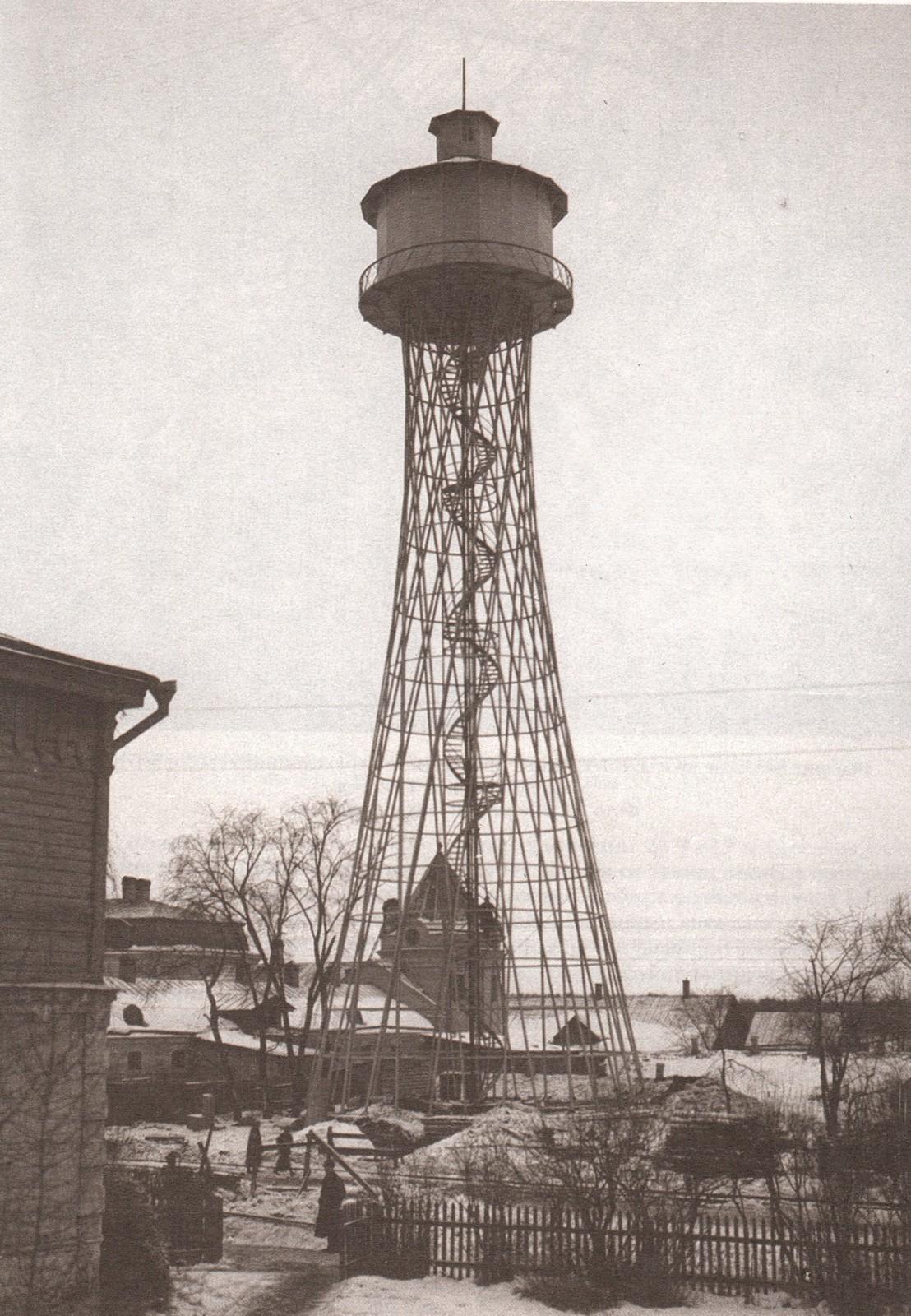 Водонапорная башня Московского сельскохозяйственного института в Петровском-Разумовском. 1914