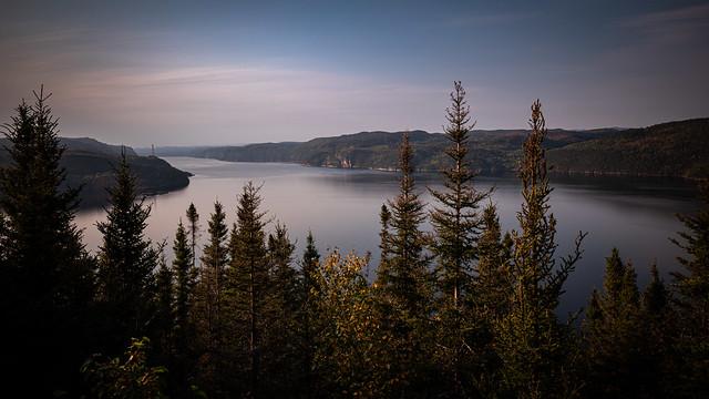 Fjord du Saguenay en aval de l'Anse-Saint-Jean