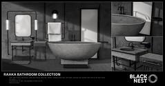 BLACK NEST | Raaka Bathroom Collection | Uber (Giveaway!)
