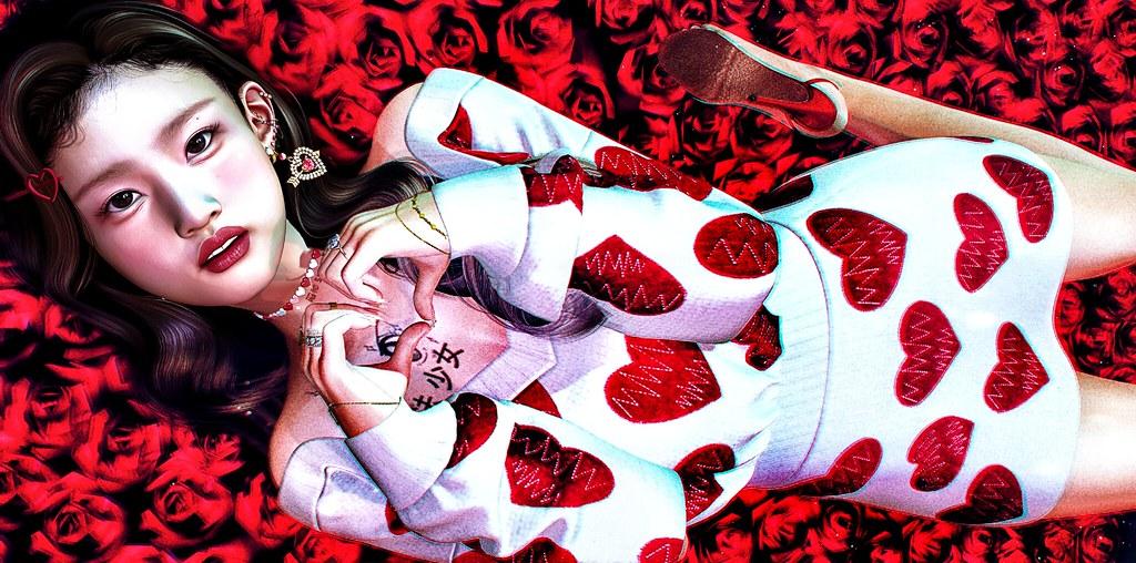 🌹薔薇は赤く。。。