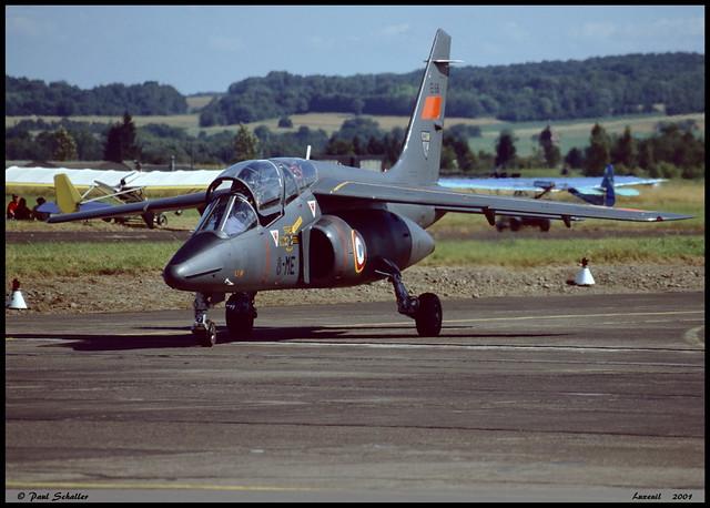 ALPHAJET E E66 8-ME ETO1 Saintonge Luxeuil juillet 2001