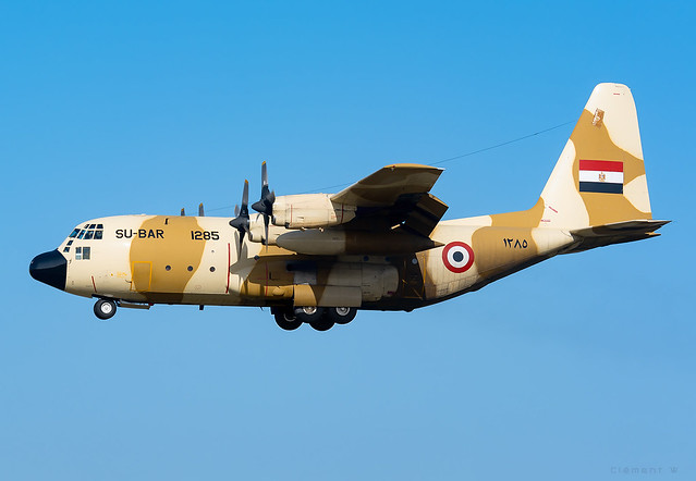 Lockheed C-130H Hercules Egyptian Air Force SU-BAR