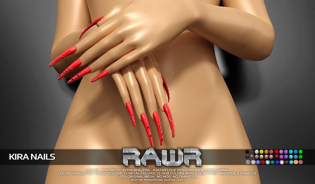 RAWR! Kira Nails PIC