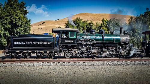 railroading landscape railroadtracks fremontca nilesrailroad nilesca locomotive steamengines fall skookum nilescanyonrailroad