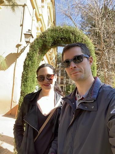 En el Jardín Botánico de Granada