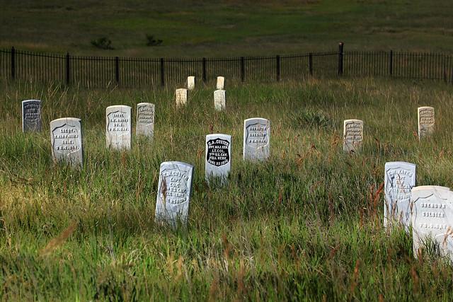 Custer graves
