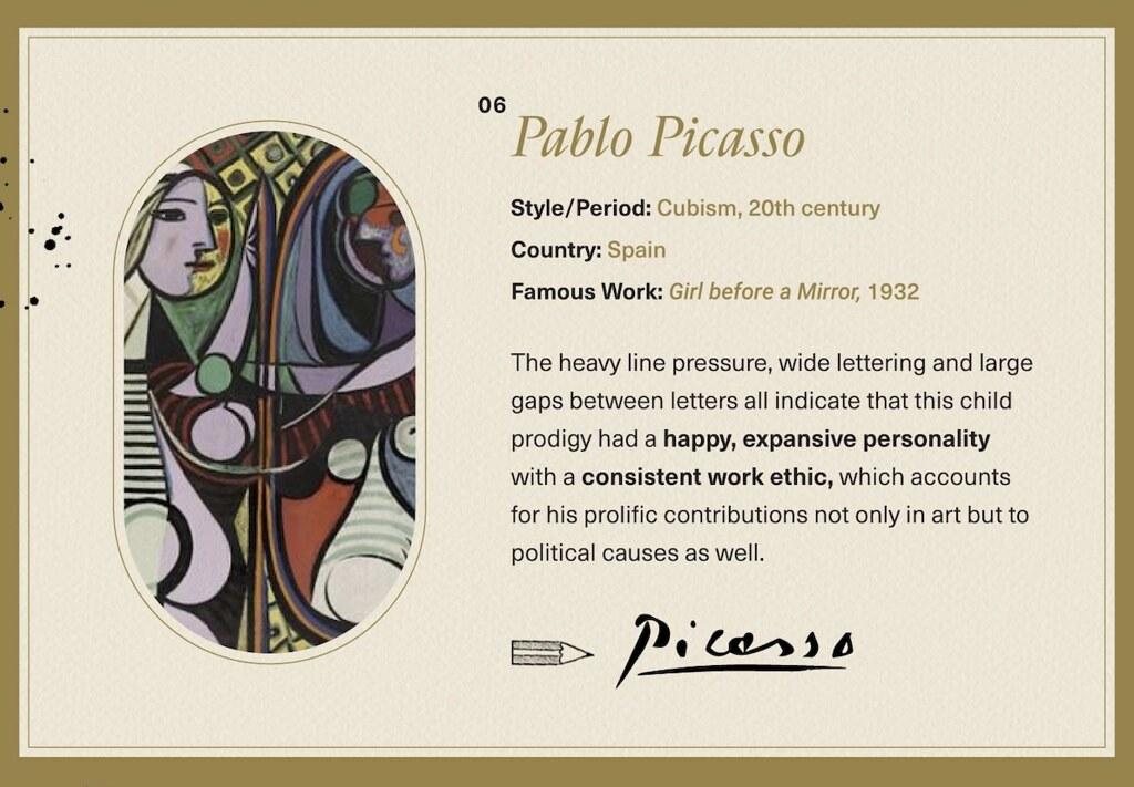 Picasso Signature
