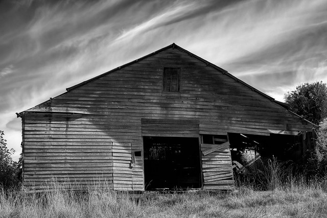 Crooked Old Barn
