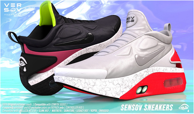 [ Versov // ] SENSOV sneakers available at UBER event