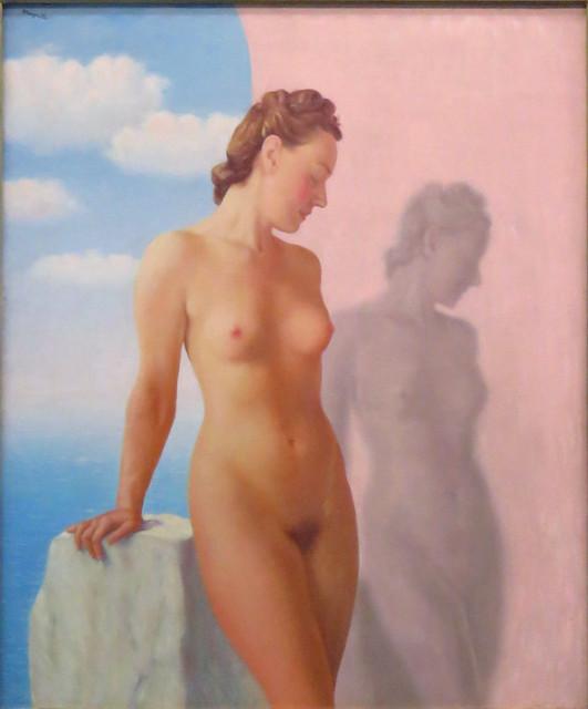 René Magritte - Le rêve (The dream), 1945 - [589]