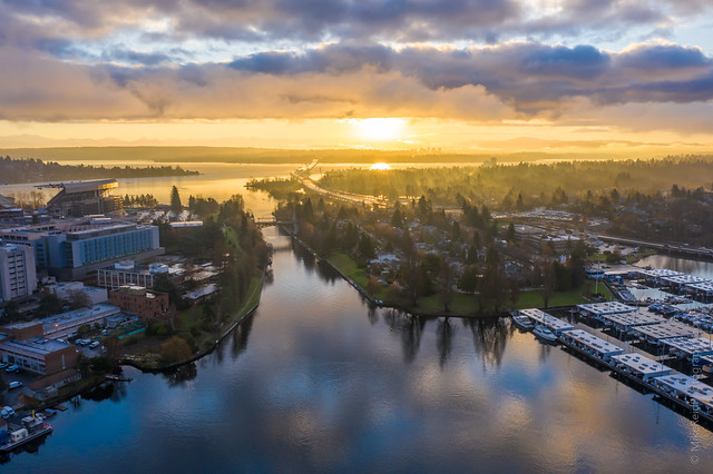 Seattle Montlake Sunrise