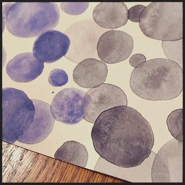 Watercolor Spots