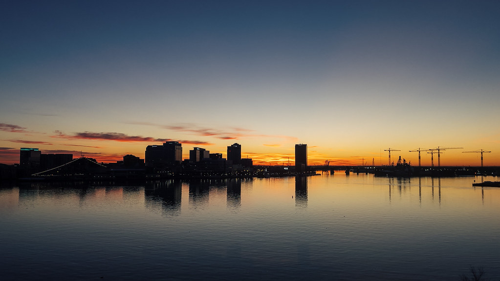 Dawn from Portsmouth Virginia