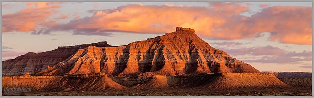 Gooseberry Mesa Sunset
